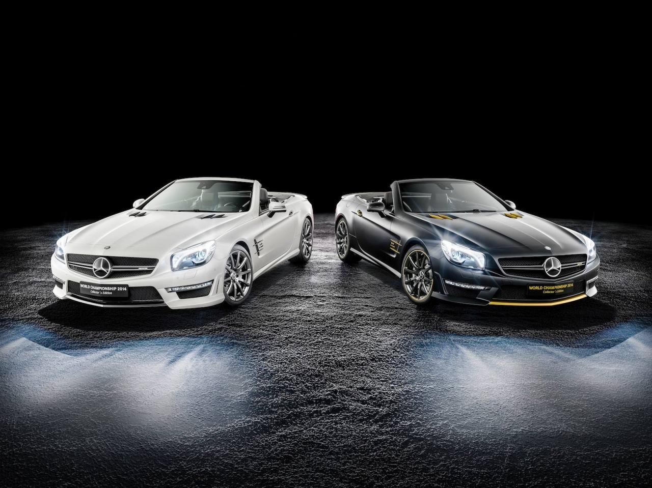 Mercedes-Benz SL63 AMG World Championship 2014 Collector's Edition, solo 19 unidades