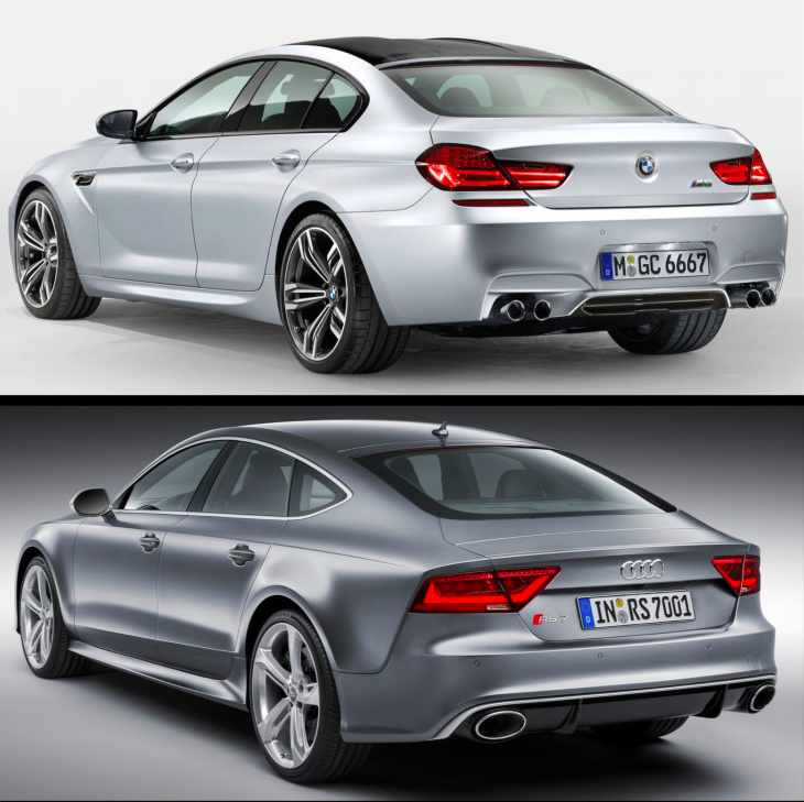 BMW M6 VS Audi RS7