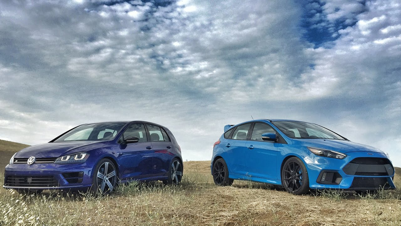 Ford Focus RS VS Volkswagen Golf R