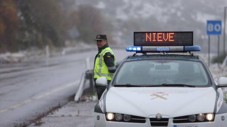 Guardia Civil nevada