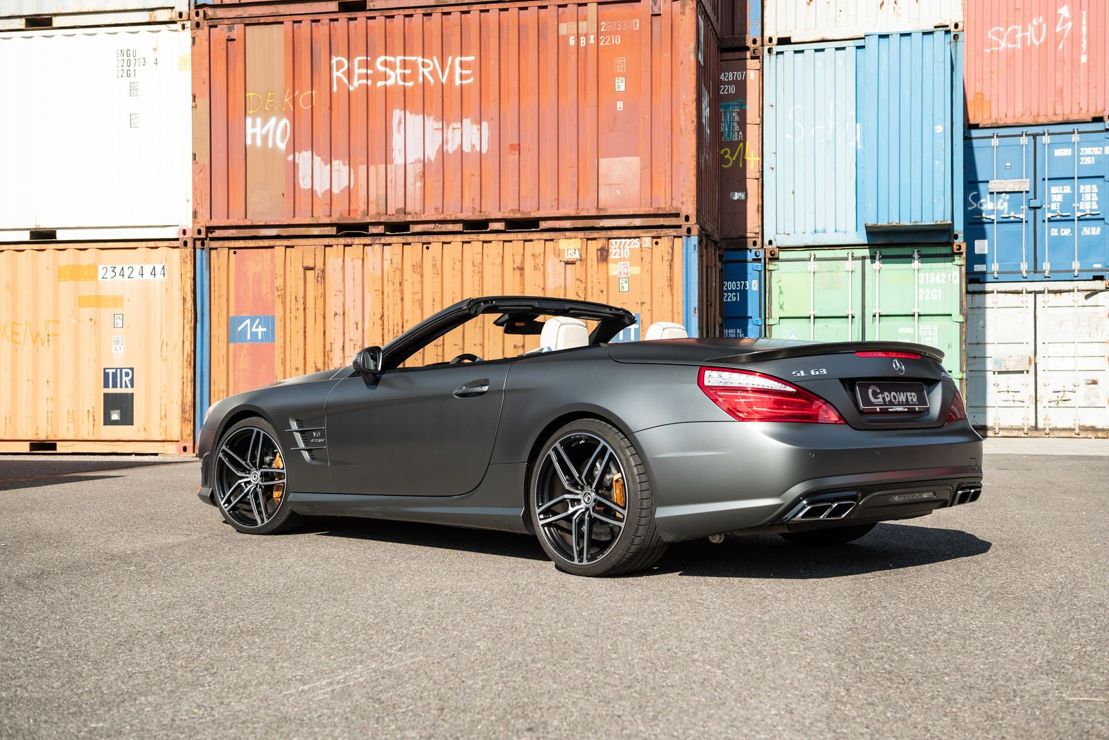Mercedes Amg Sl63 Tuning G Power (2)